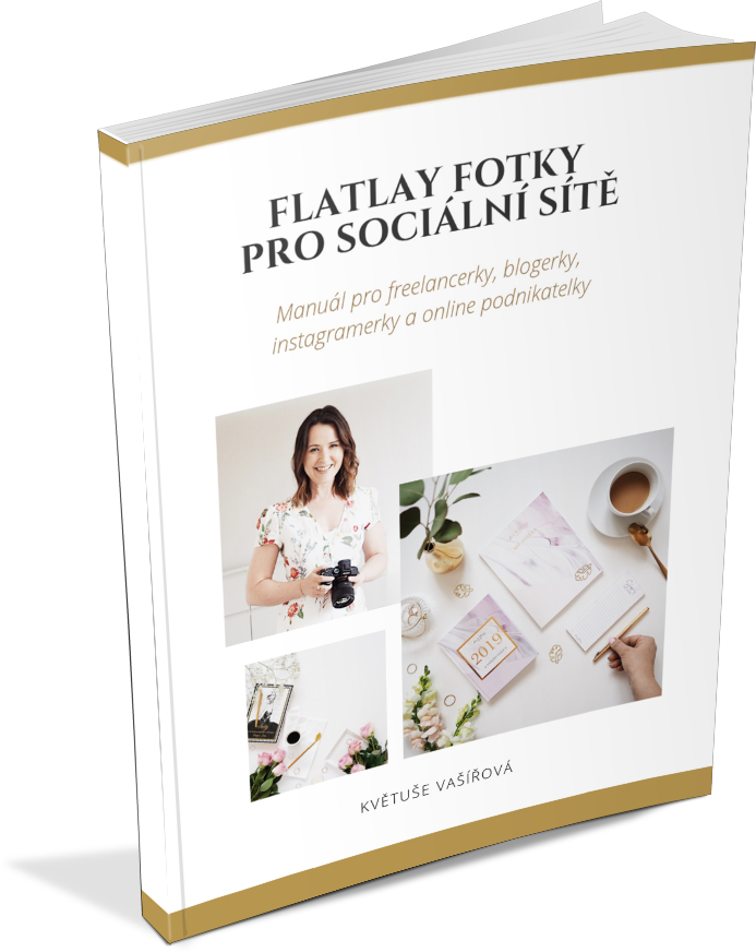 FLATLAY FOTKY PRO SOCIÁLNÍ SÍTĚ e-book